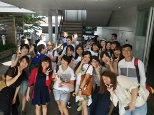 Student enrolled in Kyushu's JLCC Program