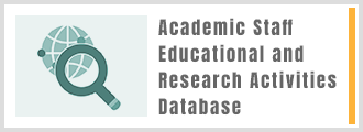 Academic Staff Educational and Research Activities Database