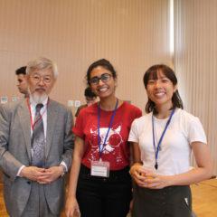 With Prof. Wakayama, Executive Vice President of Kyushu University