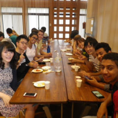Welcome party with KU students (tutors) 1